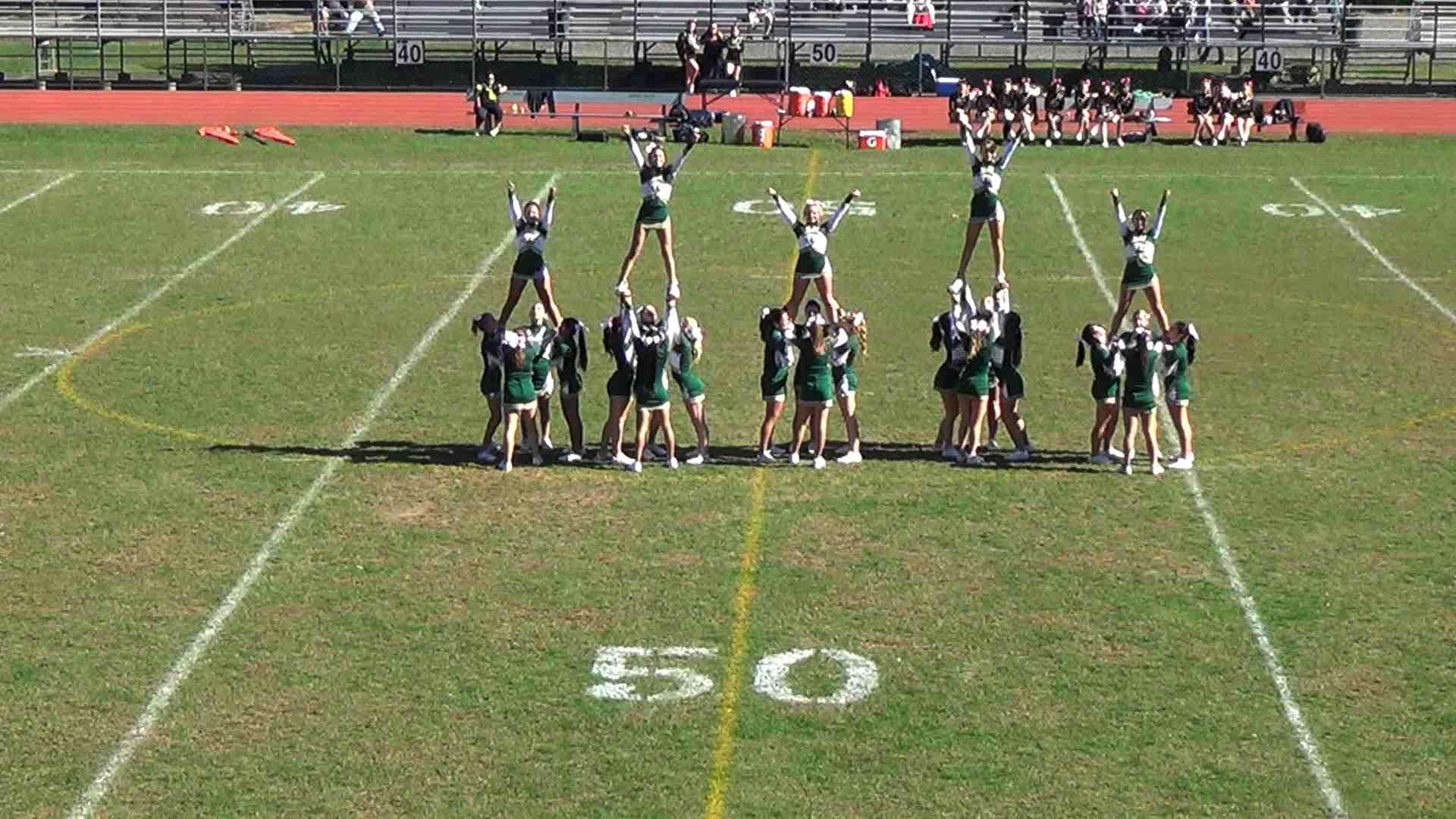cheer video passaic valley cheerleading performance jersey